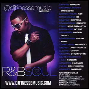 RnB Soul 33 Mixtape Graphics