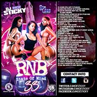 RNB State Of Mind 33 mixtape graphics