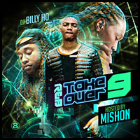 RnB Takeover 9 mixtape graphics