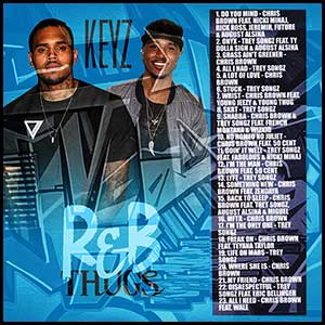 RnB Thugs Chris Brown and Trey Songz Edition Mixtape Graphics