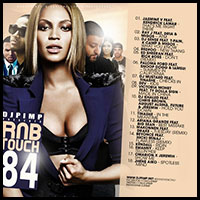 RnB Touch 84 mixtape graphics