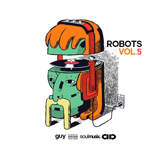 GuyATL - Robots 5 | Buymixtapes com