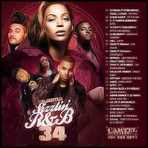 Sizzlin RnB 34 Mixtape Graphics