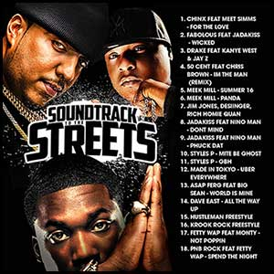 Soundtrack To The Streets April 2K16 Edt
