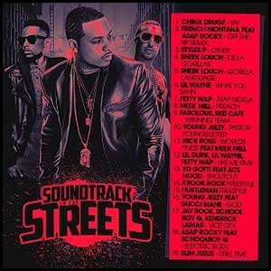 Soundtrack To The Streets September 2K15
