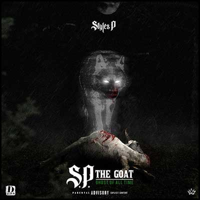 S.P. The GOAT Ghost Of All Time Mixtape Graphics