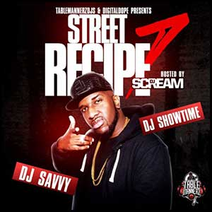 Street Recipe 7 Mixtape Graphics