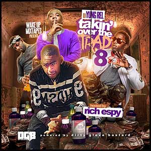 Takin Over The Trap 8 Mixtape Graphics