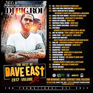 The Best Of Dave East 2 Mixtape Graphics