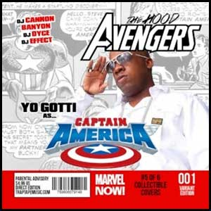 The Hood Avengers Captain America