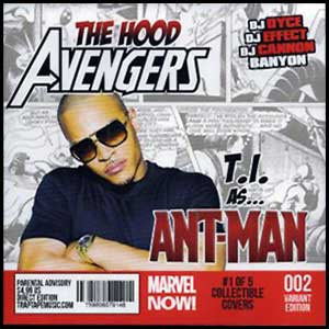 The Hood Avengers Ant-Man Edition