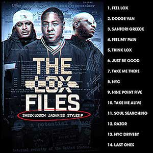 The LOX Files Mixtape Graphics