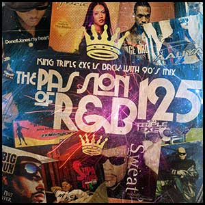The Passion Of RnB 125 Mixtape Graphics
