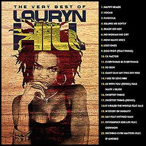 The Very Best Of Lauryn Hill Mixtape Graphics