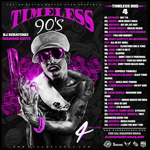 Timeless 90s Volume 4 Mixtape Graphics