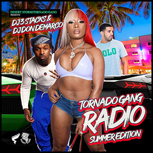 Tornado Gang Radio Summer Edition Mixtape Graphics