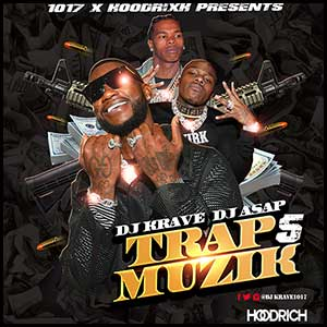 Trap Muzik Volume 5 Mixtape Graphics