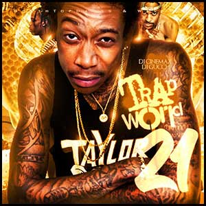 Trap World 21 Mixtape Graphics