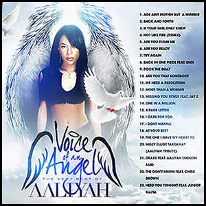 Voice Of An Angel Best Of Aaliyah Mixtape Graphics