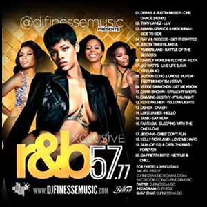 Xclusive RnB 57.77 Mixtape Graphics
