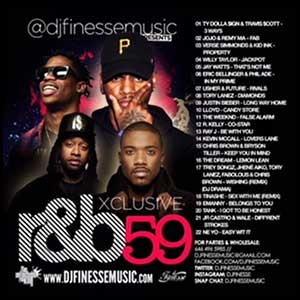Xclusive RnB 59 Mixtape Graphics