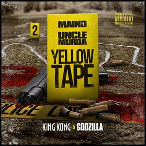 Yellow Tape King Kong and Godzilla