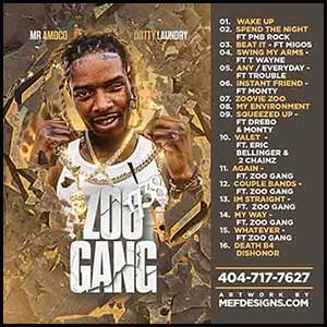 Zoo Gang Mixtape Graphics